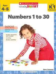 Scholastic Study Smart Numbers 1 to 30