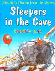 Sleepers In The Cave Quran Stories Coloring Book -