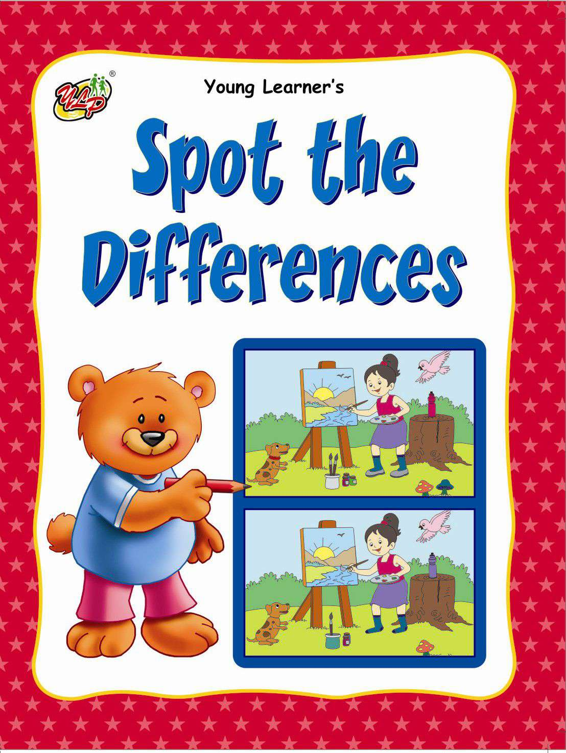 Spot The Differences Red