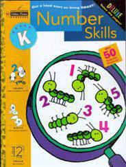 Step ahead Number Skills K Step Ahead Golden Books Workbook -