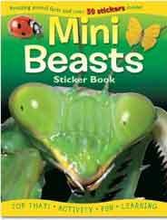 Sticker Activity Book  Mini Beasts Sticker Activity Books