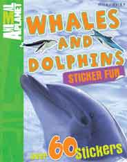 Sticker Fun: Whales and Dolphins