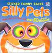 Sticker Funny Faces Silly Pets