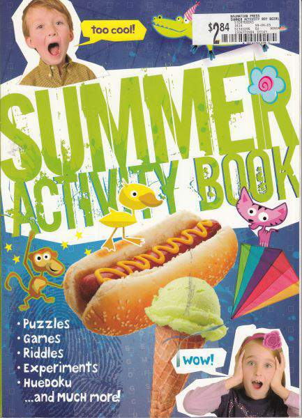 Summer Activity Book