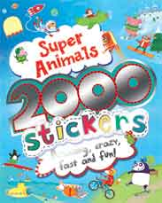 Super Animals 2000 Stickers