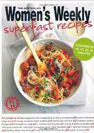 Super fast Recipes (The Australian Women's Weekly Essentials)
