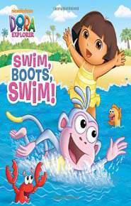 Swim Boots Swim! Dora the Explorer -