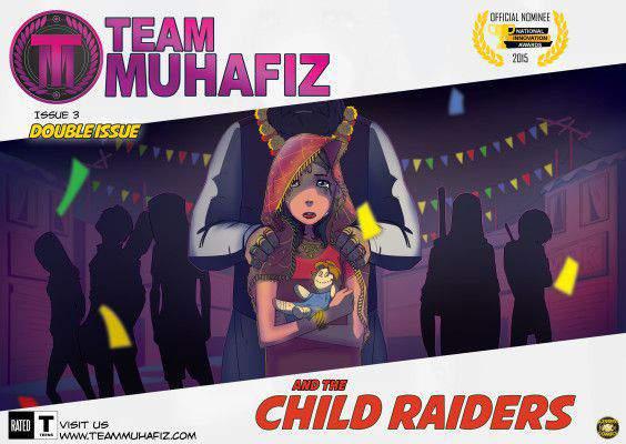 Team Muhafiz Comic Book Double Issue