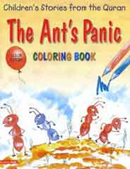 The Ants Panic: Quran Stories Coloring Book