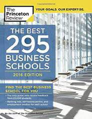 The Best 296 Business School 2016