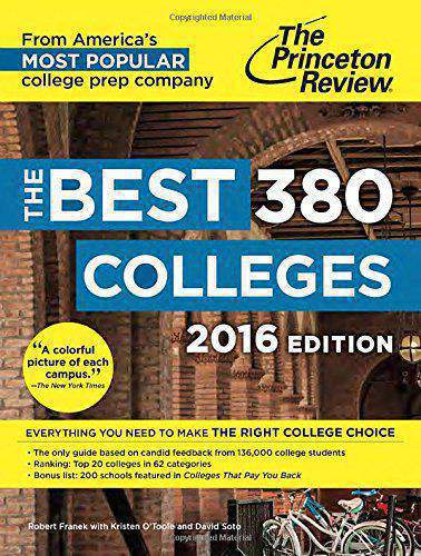 The Best 379 Colleges 2016