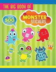 The Big Book of Monster Stickers Big Book of Stickers