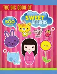 The Big Book of Sweet Stickers Big Book of Stickers