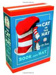 The Cat in the Hat Book and Hat -