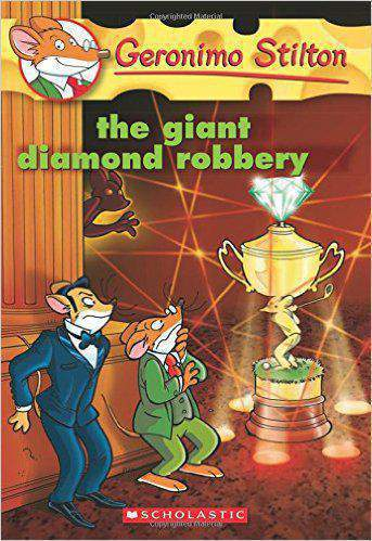 The Giant Diamond Robbery Geronimo Stilton No 44 -