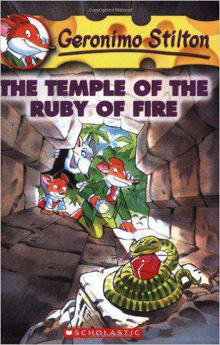 The Temple of the Ruby of Fire Geronimo Stilton