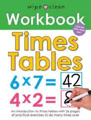 Times Table Wipe Clean Workbooks