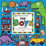 Treasure Hunt for Boys Priddy Books Big Ideas for Little People Board book