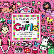 Treasure Hunt for Girls Priddy Books Big Ideas for Little People   Board book