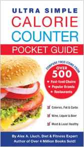 Ultra Simple Calorie Counter Pocket Guide
