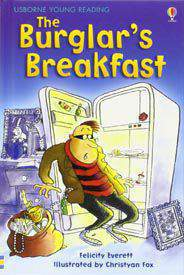 Usborne Young Reading Series 1 The Burglars Breakfast