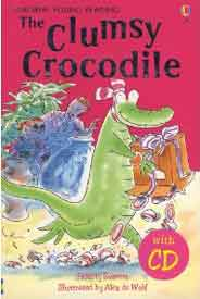 Usborne Young Reading The Clumsy Crocodile Book & Cd Audio Pack