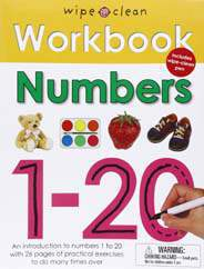 Wipe Clean Workbook Numbers