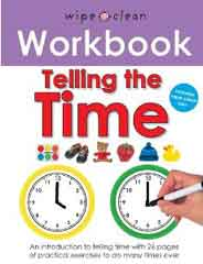 Wipe Clean Workbook Tell The TimeSpiral Bound