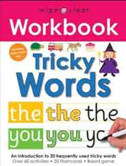 Wipe Clean Workbook Tricky WordsSpiral Bound