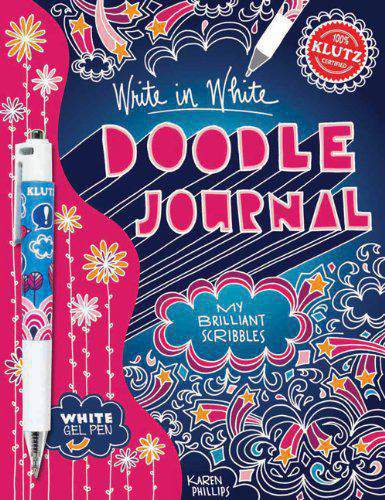 Write In White Doodle Journal My Brilliant Scribbles