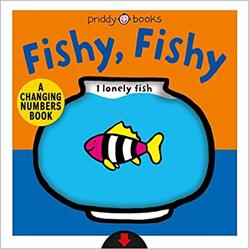 A Changing Picture Book: Fishy, Fishy  - Hard book