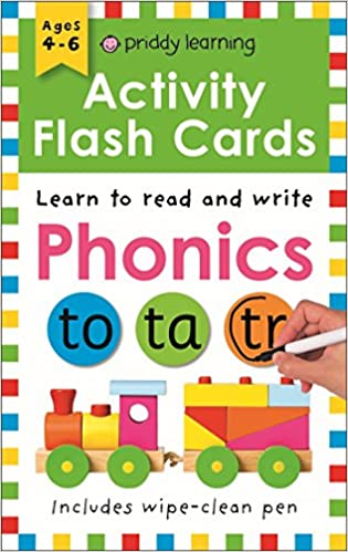 Activity Flash Cards Phonics  - Paperback