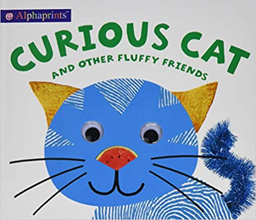 Alphaprints Curious Cat  - Hardcover