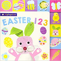 Alphaprints LTT Easter 123 -  Board book