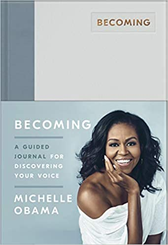 Becoming: A Guided Journal for Discovering Your Voice  - Hardcover