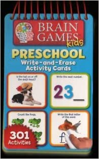 Brain Games Kids PS Write-and-Erase Activity Cards
