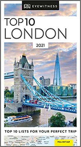 DK Eyewitness Top 10 London: 2021 (Travel Guide) - (PB)