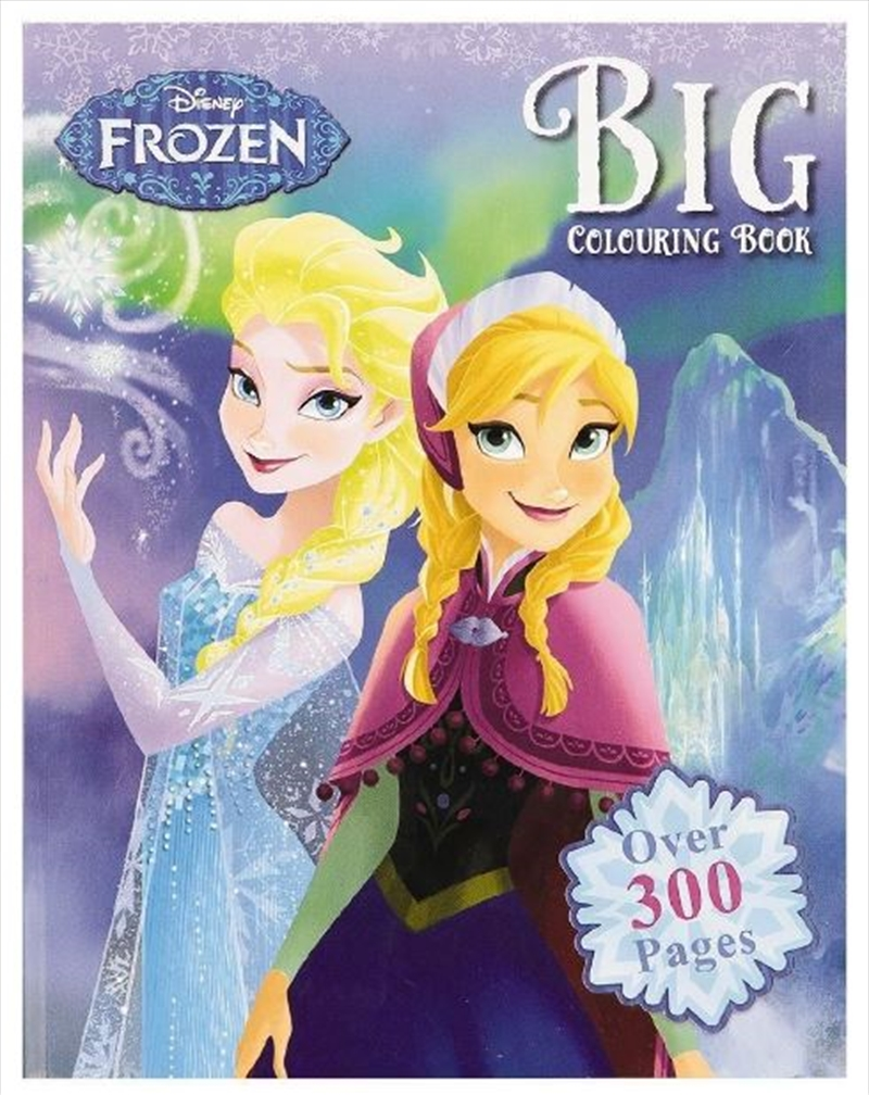 Disney Frozen Big Colouring Book