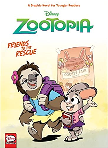Disney Zootopia: Friends to the Rescue (Younger Readers Graphic Novel) Hardcover