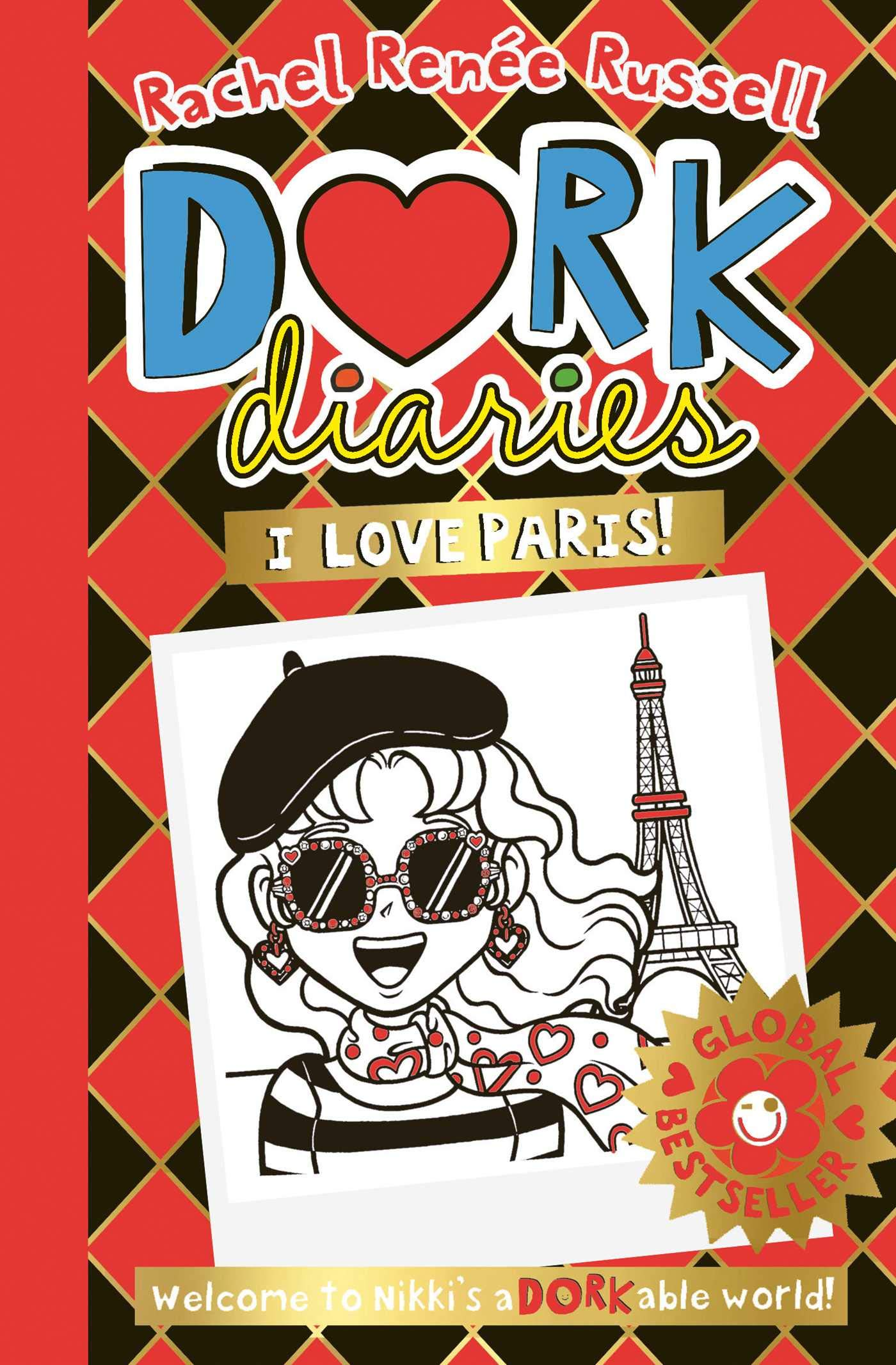 Dork Diaries: I Love Paris! (Volume 15)  - Hardcover
