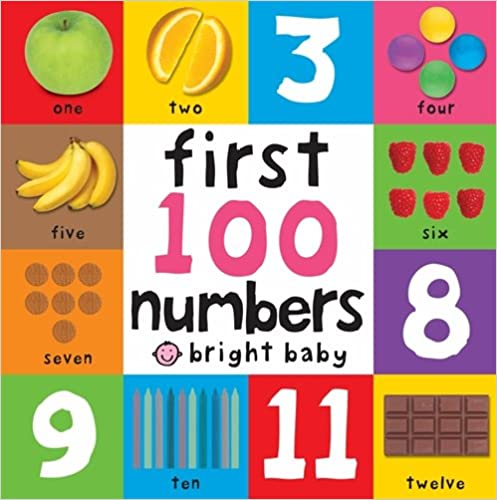 First 100 Numbers  - Board Books