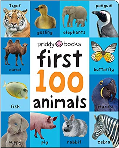 First 100 Soft To Touch Animals  -  Hardcover