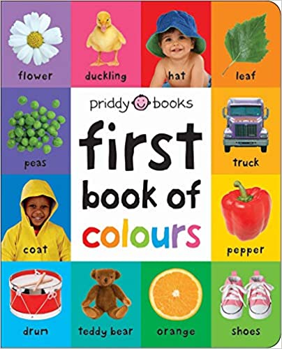 First Book of Colours (First 100 Soft To Touch) Hardcover