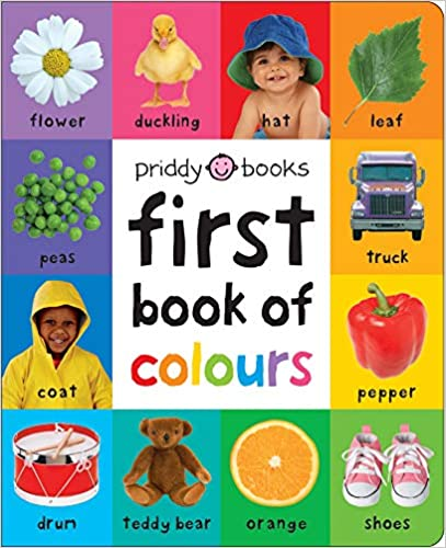 First Book of Colours (First 100 Soft to Touch) - Hardcover