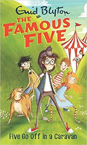 Five Go Off in a Caravan: Famous Five 5 Paperback