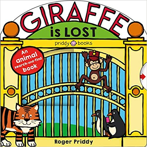 Giraffe Is Lost - Board book