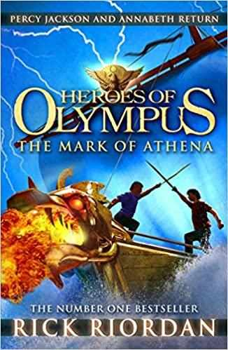 Heroes of Olympus # 3 :The Mark of Athena - (PB)