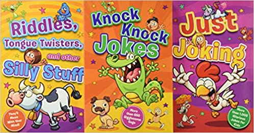Hilarious Jokes for Kids: 3 Books packed with jokes, wisecracks, and riddles  - Paperback