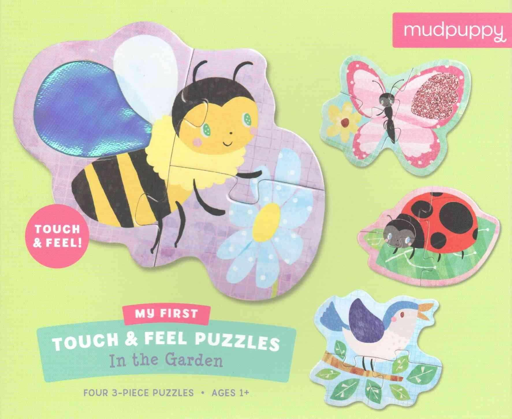 In the Garden - My First Touch & Feel Puzzles : Four 3-piece Puzzles (My First Touch & Feel Puzzles)