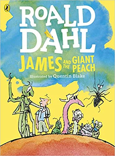 James and the Giant Peach  -  Paperback